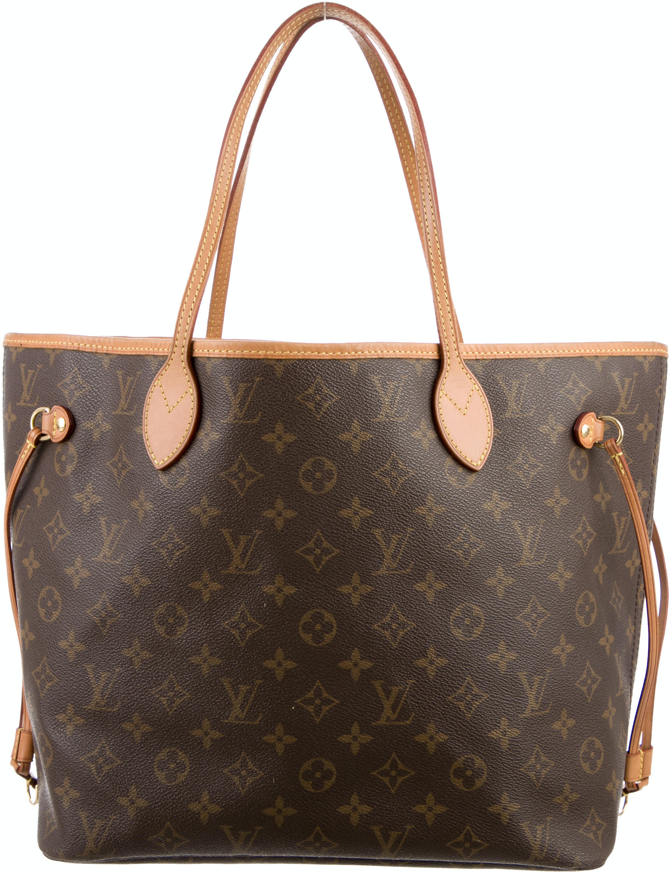 Louis Vuitton Neverfull Monogram MM Brown