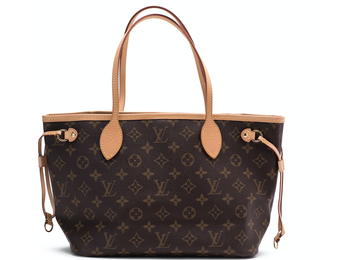 517b1838c Louis Vuitton Neverfull Monogram (Without Pouch) PM Beige Lining