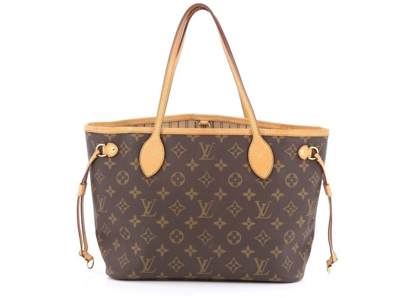 louis vuitton neverfull monogram pm brown. Black Bedroom Furniture Sets. Home Design Ideas