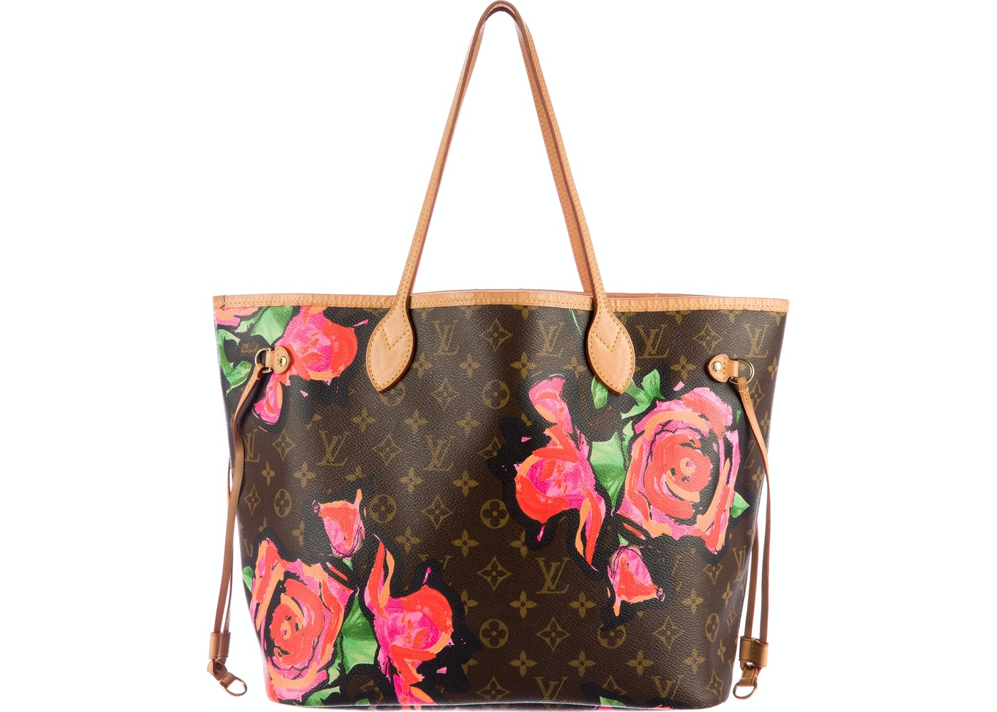 a7f3b911ffa0 Sell. or Ask. View All Bids. Louis Vuitton Neverfull Monogram Roses MM Brown  Pink
