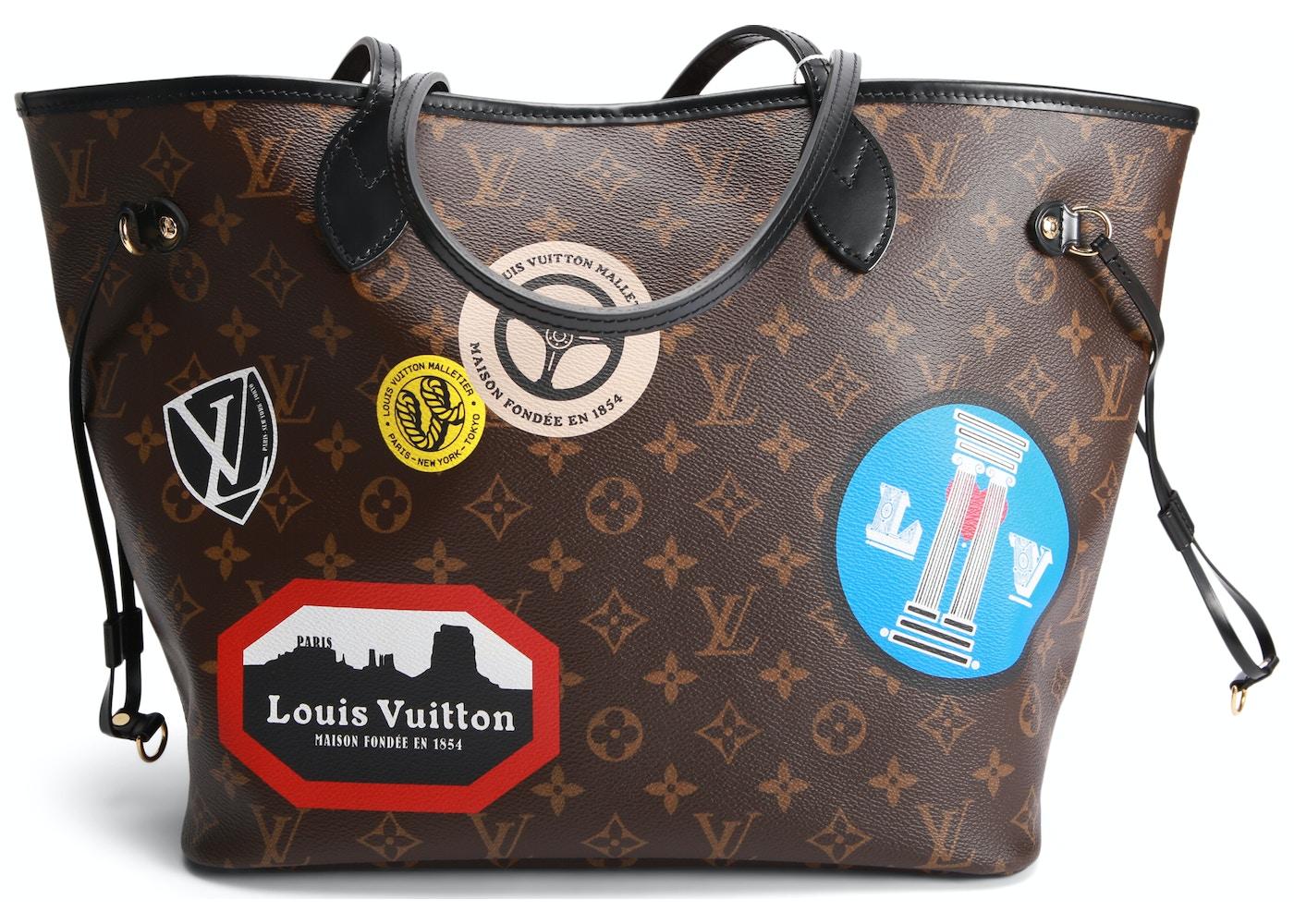 cfcc1d28c566 Louis Vuitton Neverfull Monogram World Tour MM Brown. Monogram World Tour  MM Brown
