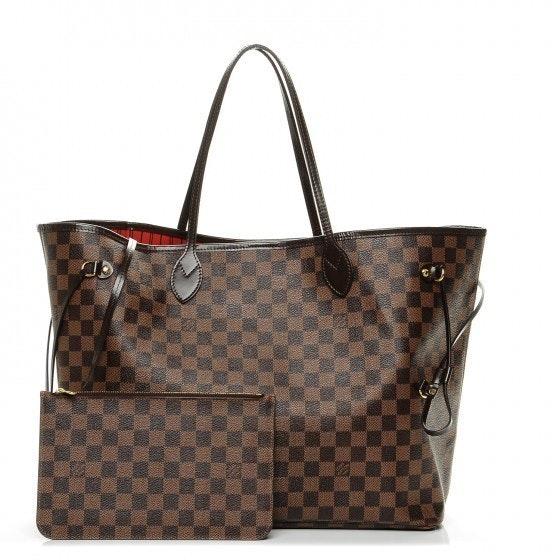 Louis Vuitton Tote Neverfull Neo Damier Ebene GM Brown