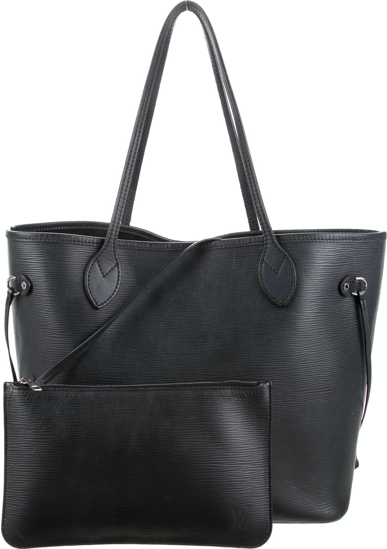 Louis Vuitton Neverfull Nm Epi MM (With Pouch) Noir