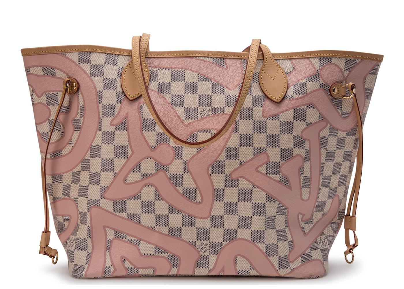 7c9403d6152 Louis Vuitton Neverfull Damier Azur Tahitienne (Without Pouch) MM ...