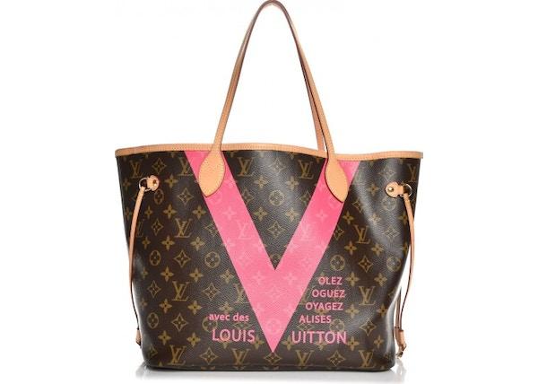 f86682daa Louis Vuitton Neverfull V Monogram Grenade MM Brown