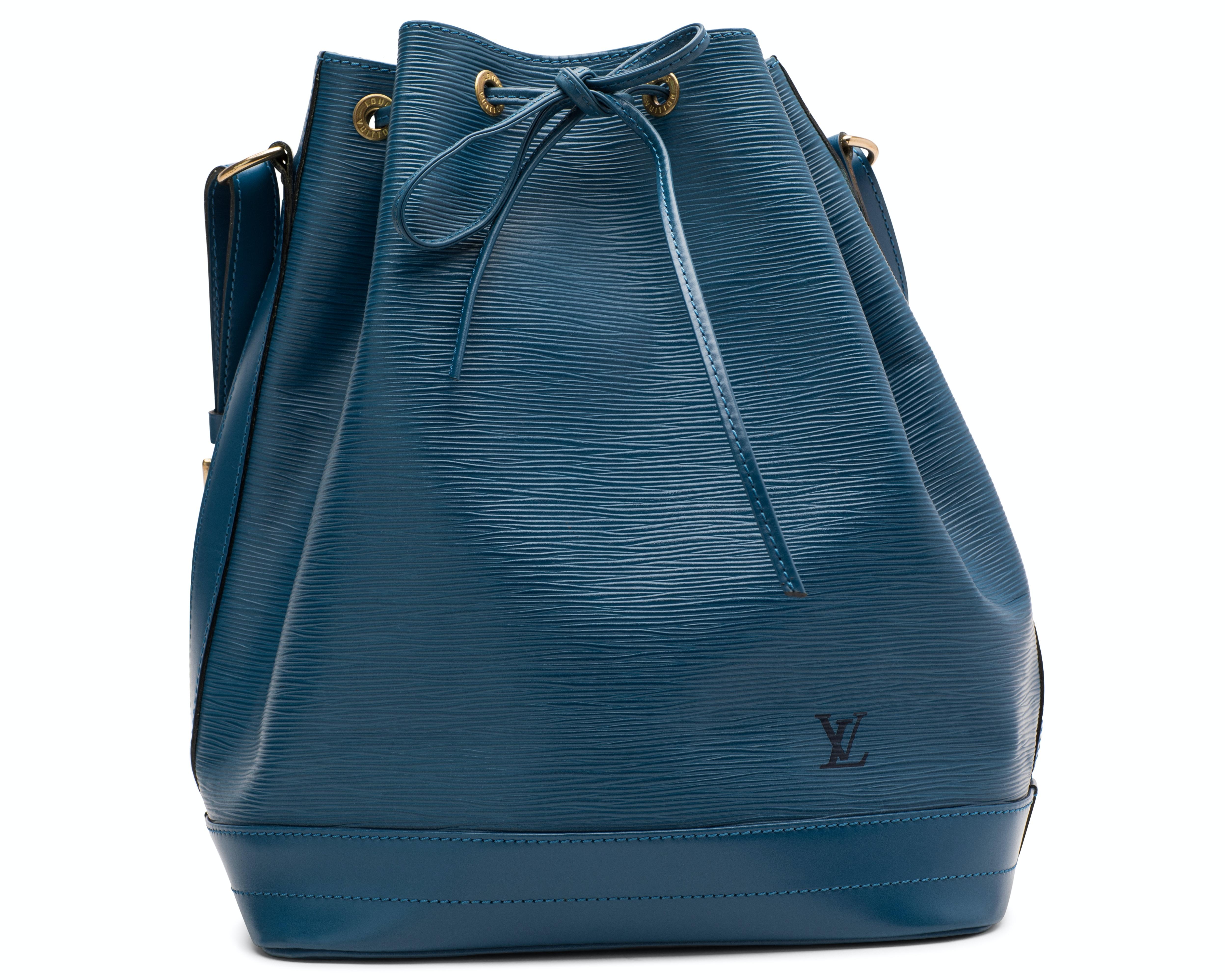 Louis Vuitton Noe Epi Large Blue