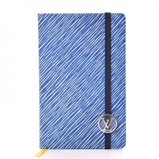 Louis Vuitton Notebook Gustave Epi PM Denim Bleu