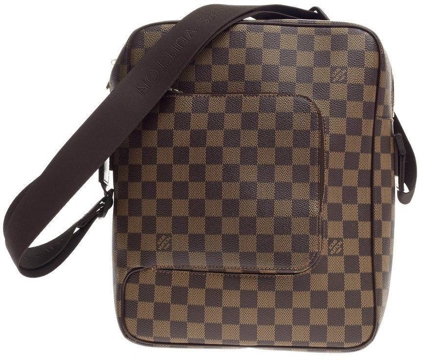 Louis Vuitton Olav Damier Ebene MM Brown
