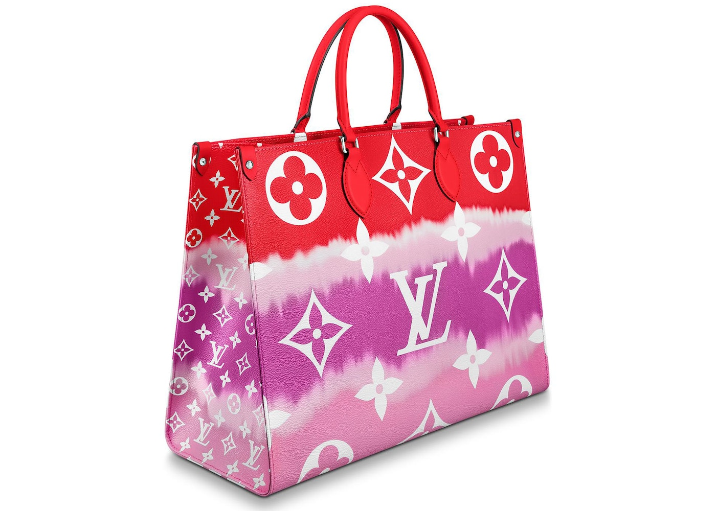 Louis Vuitton Onthego Lv Escale Gm Rouge