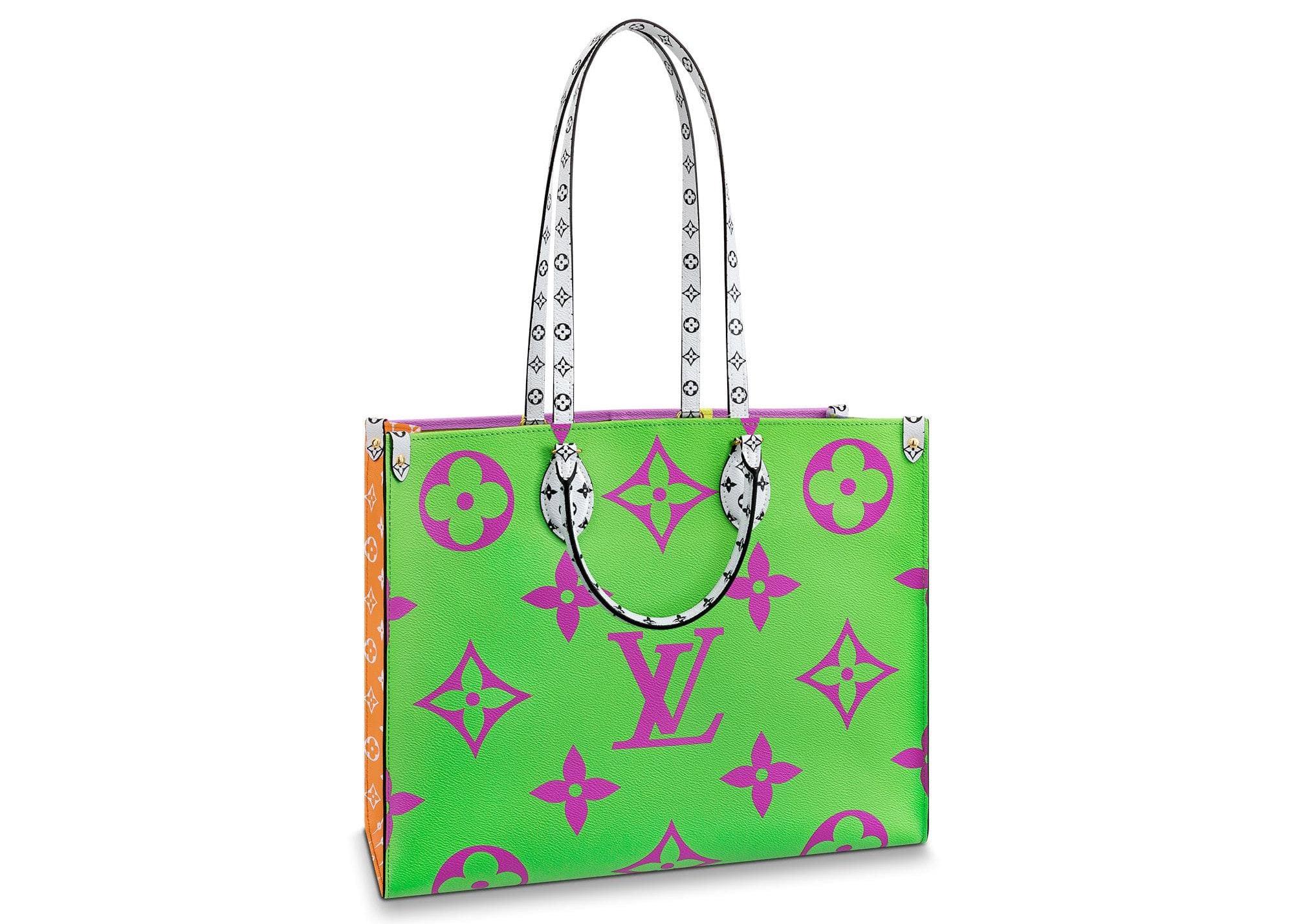 Louis Vuitton Onthego Monogram Giant Green/Lilac