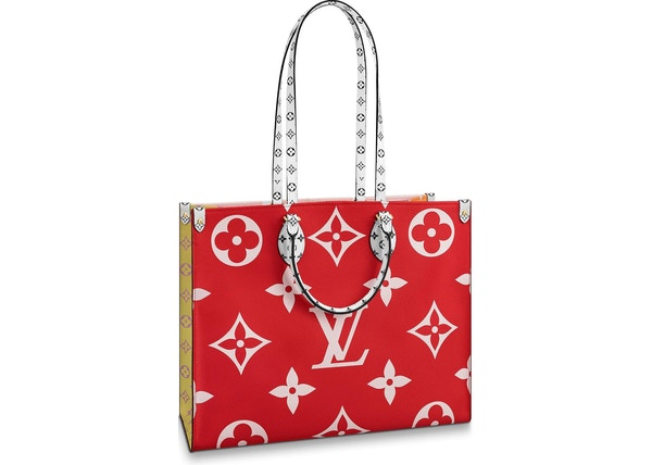 28b12afcd843 Louis Vuitton Onthego Monogram Giant Red Pink