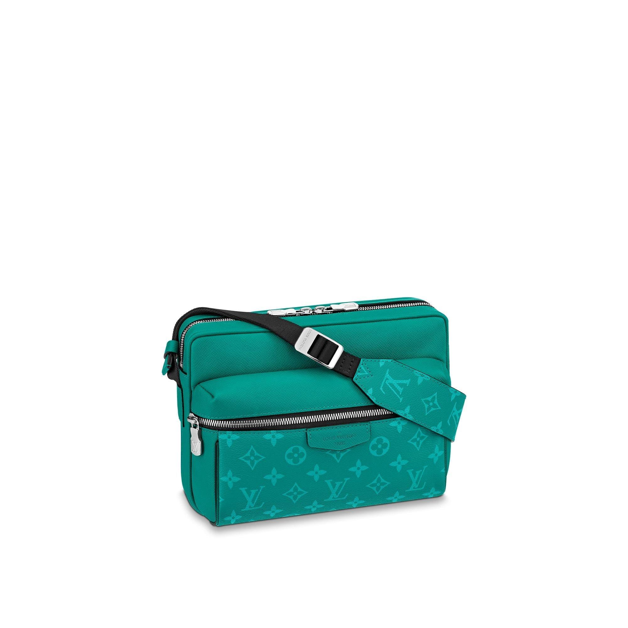 Louis Vuitton Outdoor Messenger Monogram Amazon Taiga Pine Green