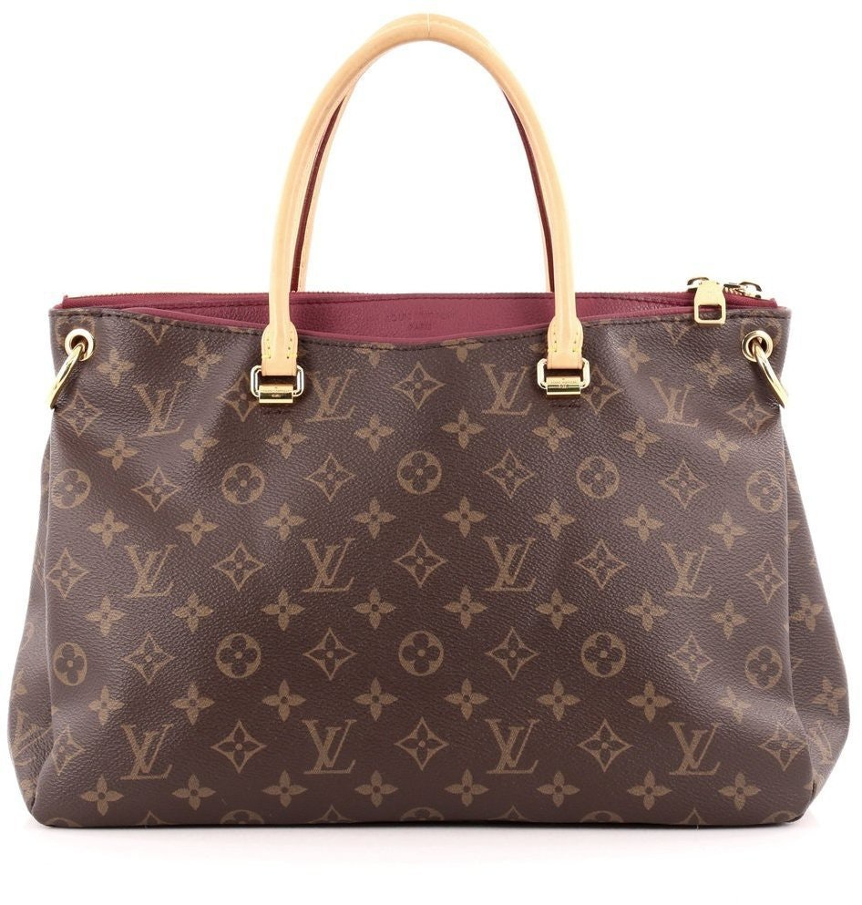 Louis Vuitton Pallas Monogram Aurore Brown/Aurore