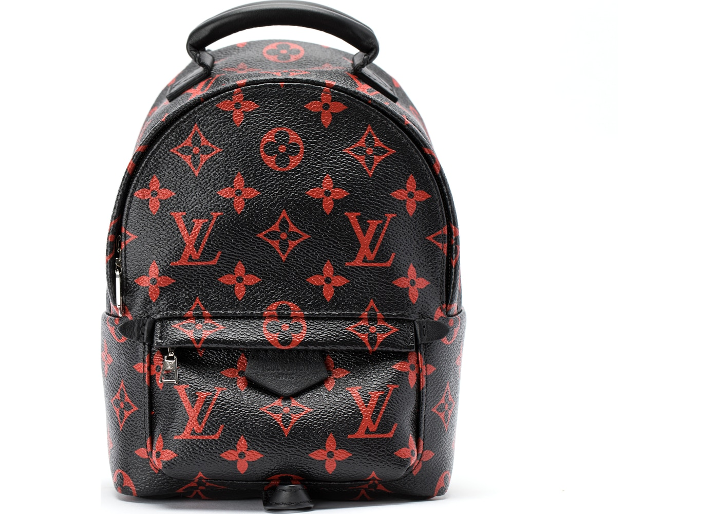 f84501ee8a99 Louis Vuitton Backpack Palm Springs Monogram Infrarouge Mini Black Red.  Monogram Infrarouge Mini Black Red
