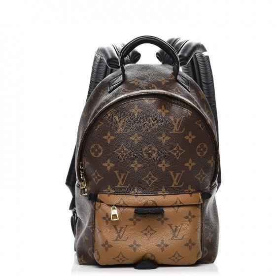Louis Vuitton Backpack Palm Springs Monogram Reverse PM