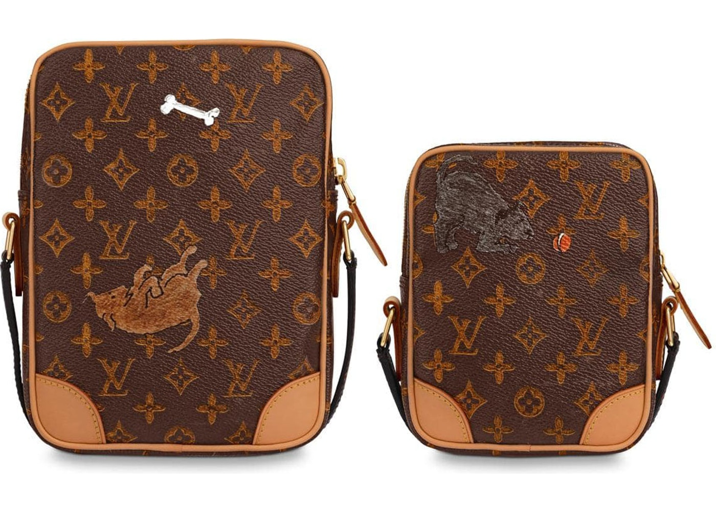 8c60f970b Louis Vuitton Paname Set Monogram Catogram Brown/Orange