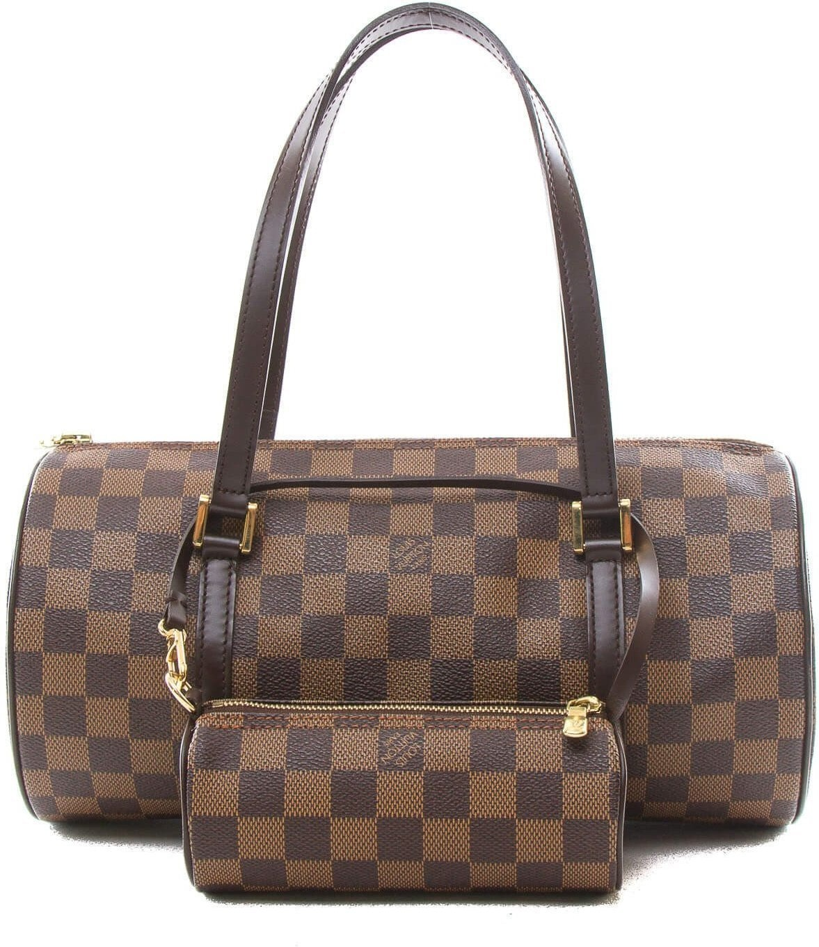 Louis Vuitton Papillon Damier Ebene 30 Brown
