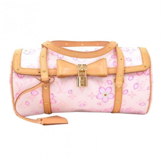 Louis Vuitton Papillon Monogram Cherry Blossom White/Pink