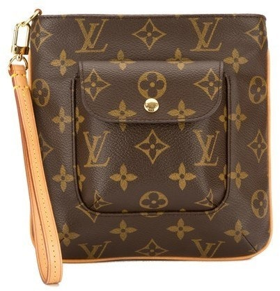 Louis Vuitton Partition Clutch Monogram Brown