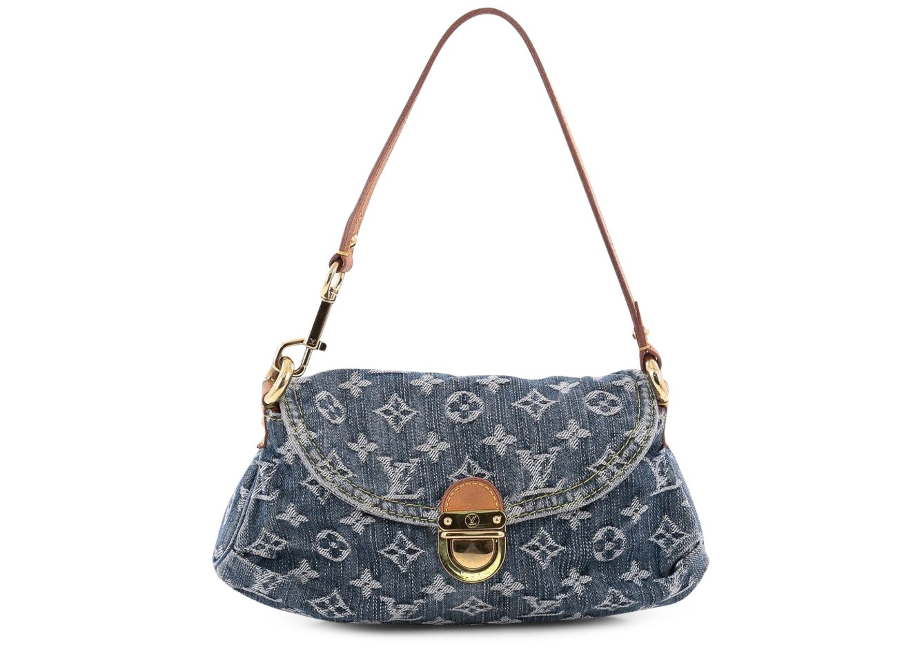 Louis Vuitton Pleaty Monogram Mini Blue