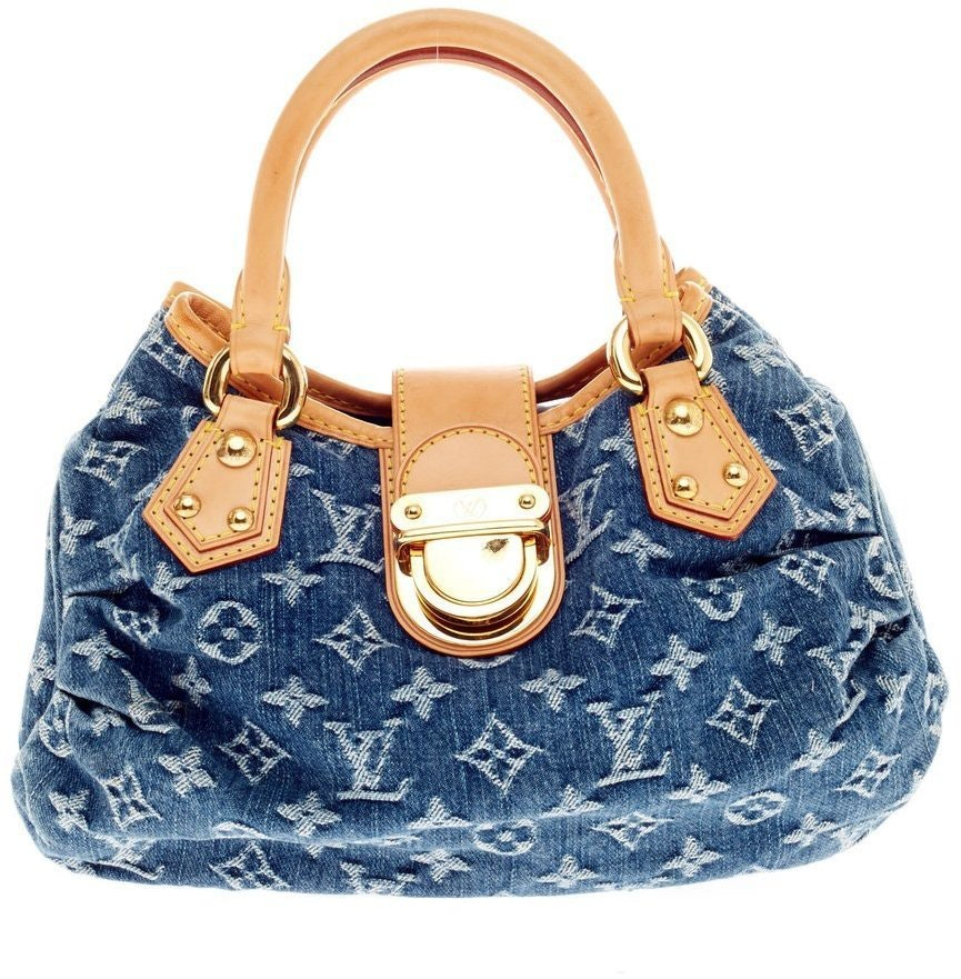 Louis Vuitton Pleaty Monogram Small Blue