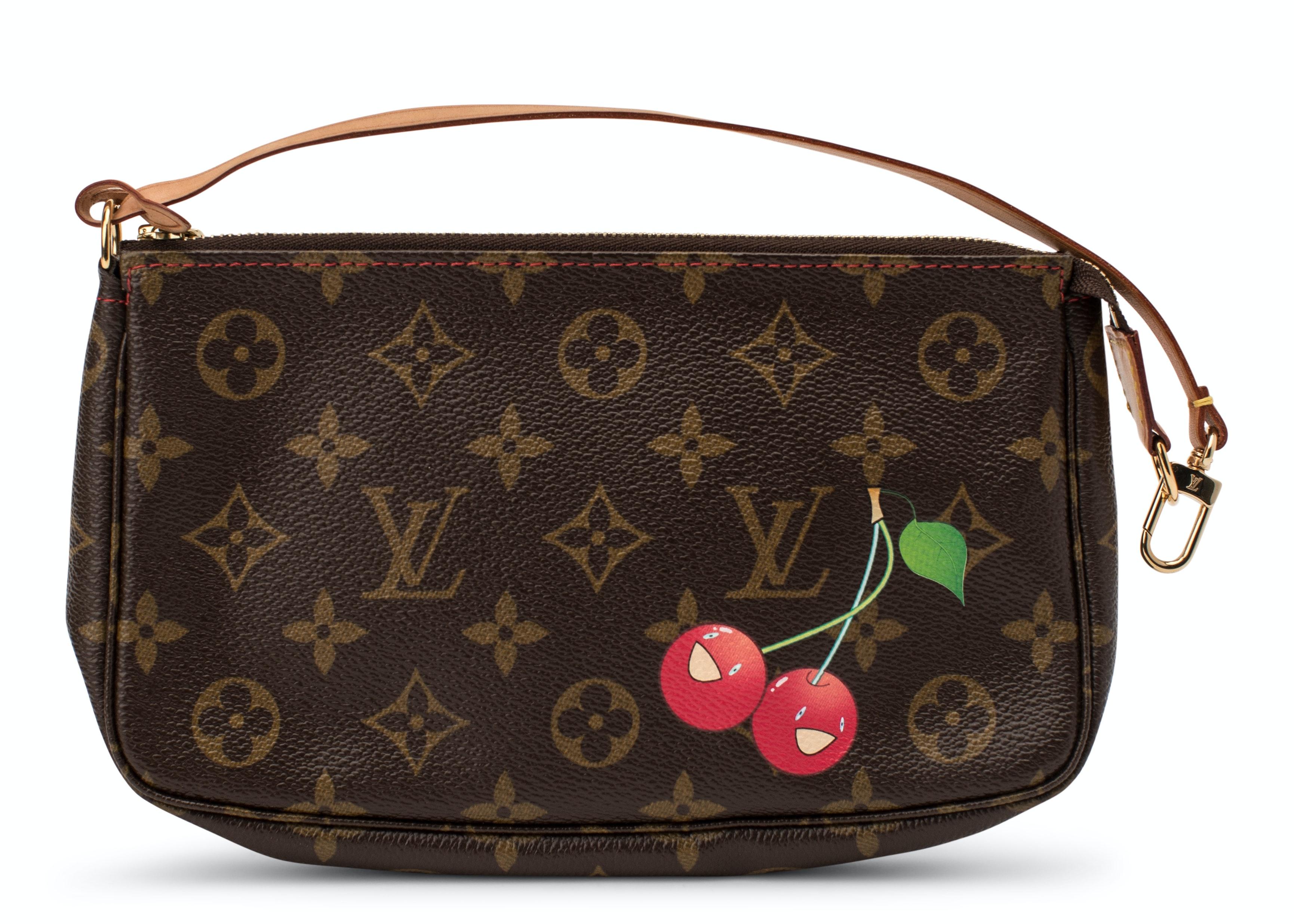 Louis Vuitton Pochette Accessoires Monogram Cherries Brown/Red