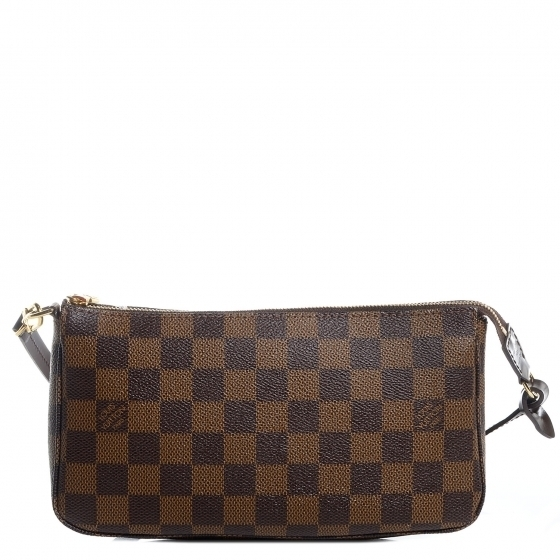 Louis Vuitton Pochette Accessoires Damier Ebene Brown