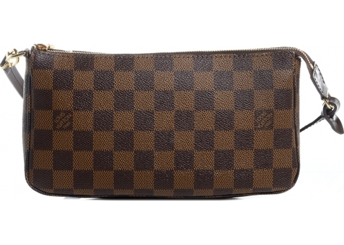 811687884 Louis Vuitton Pochette Accessoires Damier Ebene Brown. Damier Ebene Brown