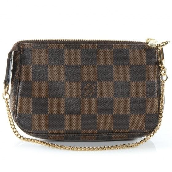 Louis Vuitton Pochette Accessoires Damier Ebene Mini Brown