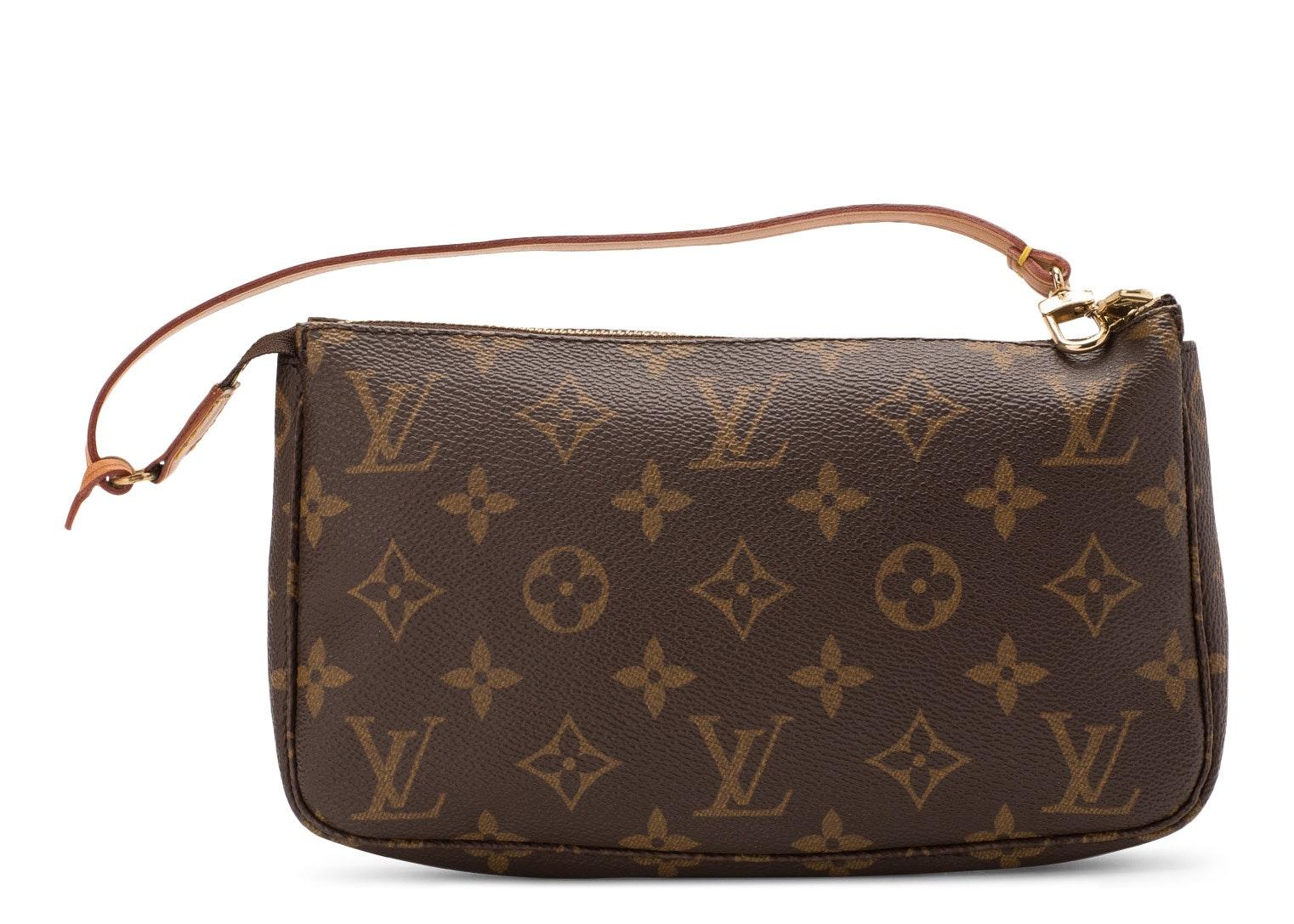 Louis Vuitton Pochette Accessoires Monogram Brown