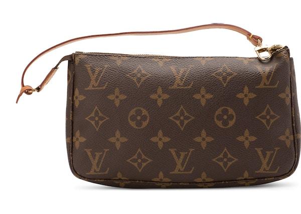 0ab216405919 Louis Vuitton Pochette Accessories Monogram Brown