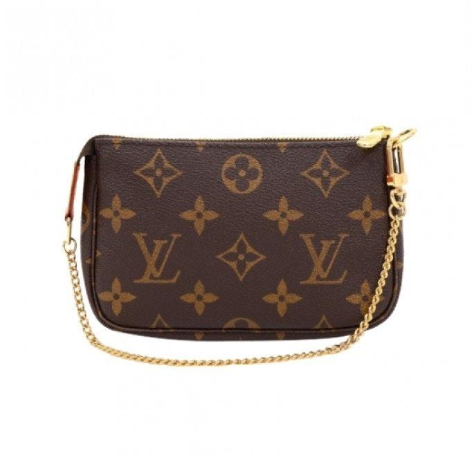 Louis Vuitton Pochette Accessoires Monogram Mini Brown