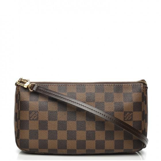Louis Vuitton Pochette Accessoires Nm Damier Ebene Brown