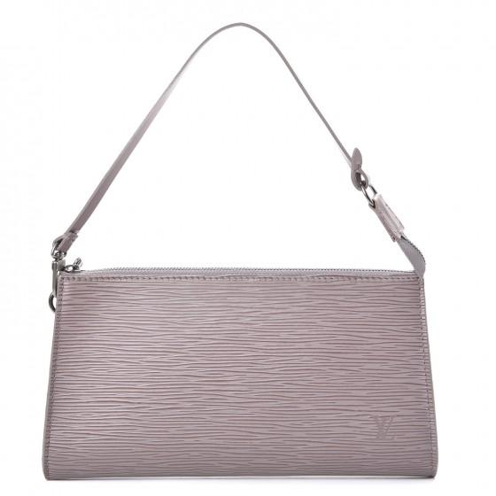 Louis Vuitton Pochette Accessories Epi 24 Lilac