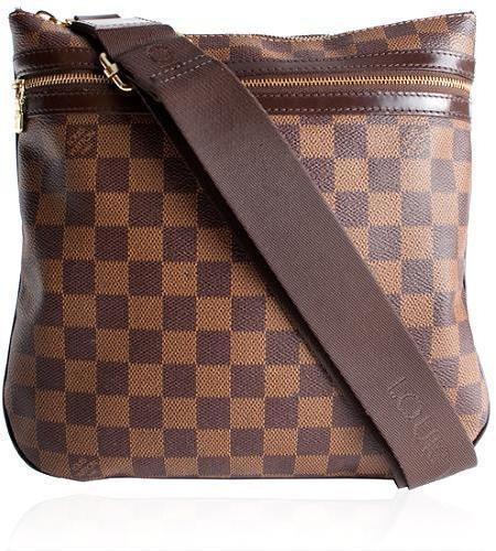 Louis Vuitton Pochette Bosphore Damier Ebene Brown