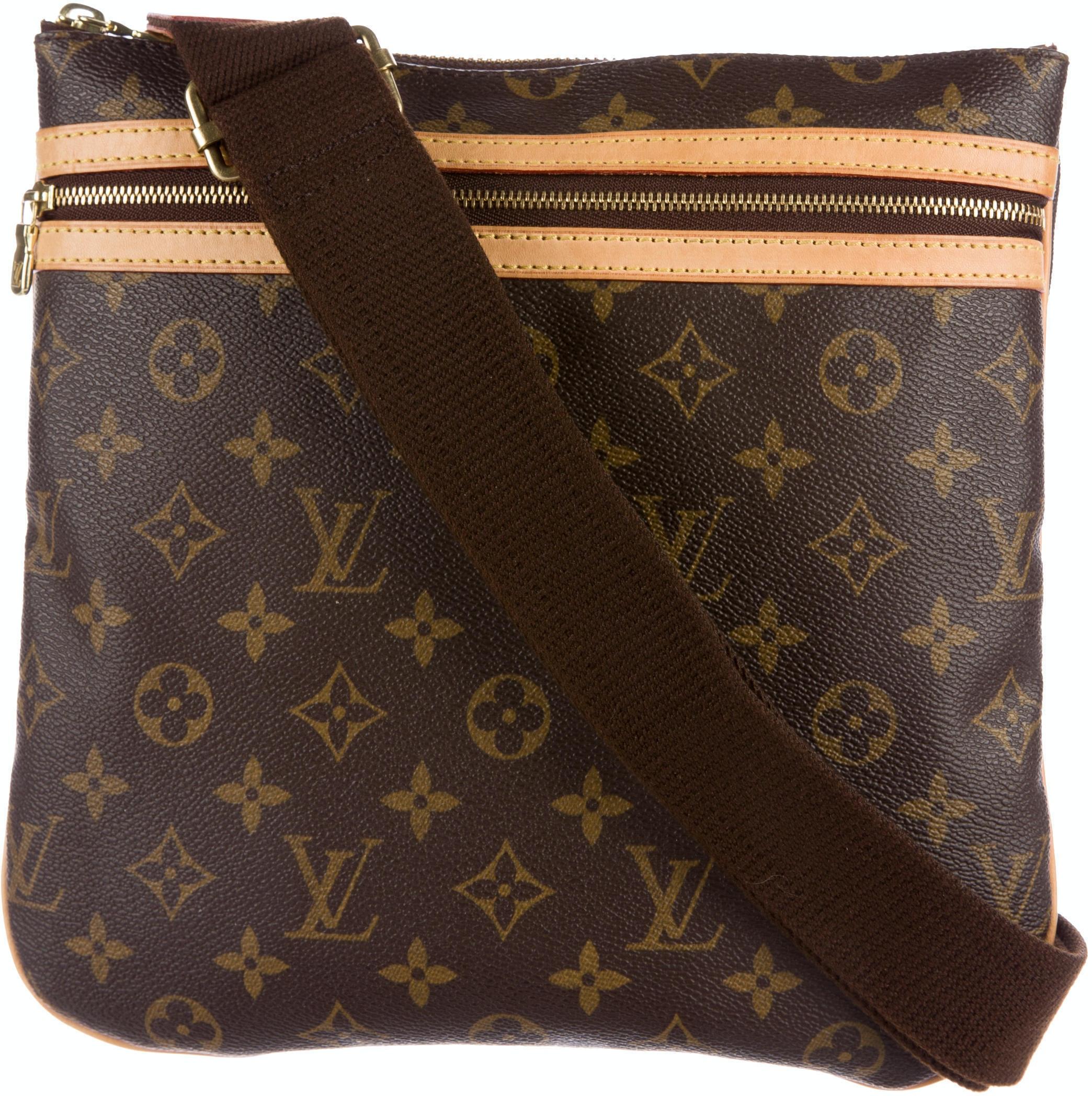 Louis Vuitton Pochette Bosphore Monogram Brown