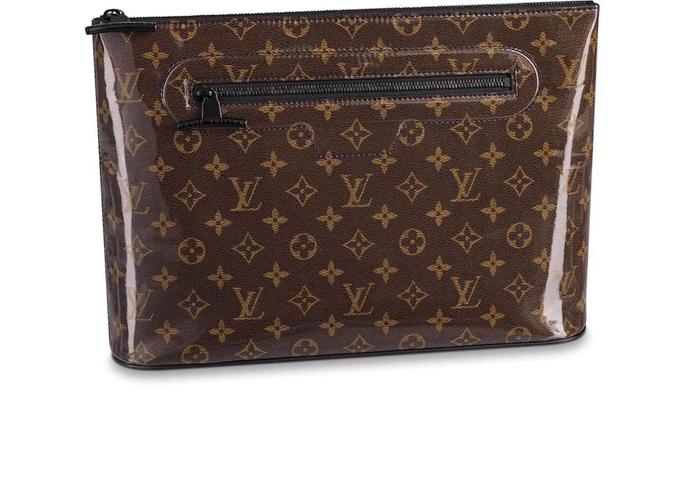 4b20ce8d288 Louis Vuitton Pochette Cosmos Monogram Brown