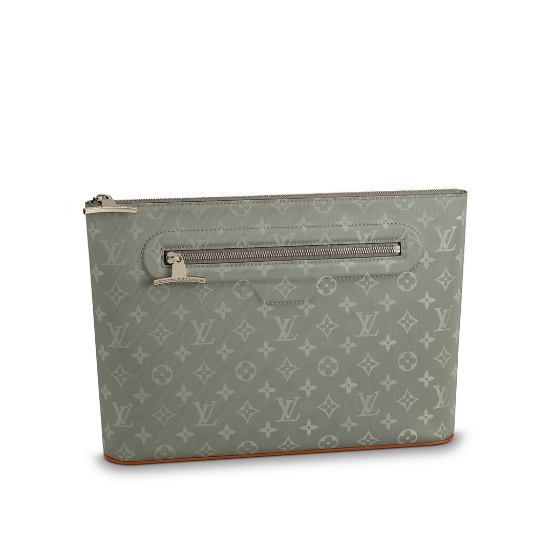 Louis Vuitton Pochette Cosmos Monogram Grey