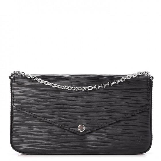 Louis Vuitton Pochette Felicie Epi Noir