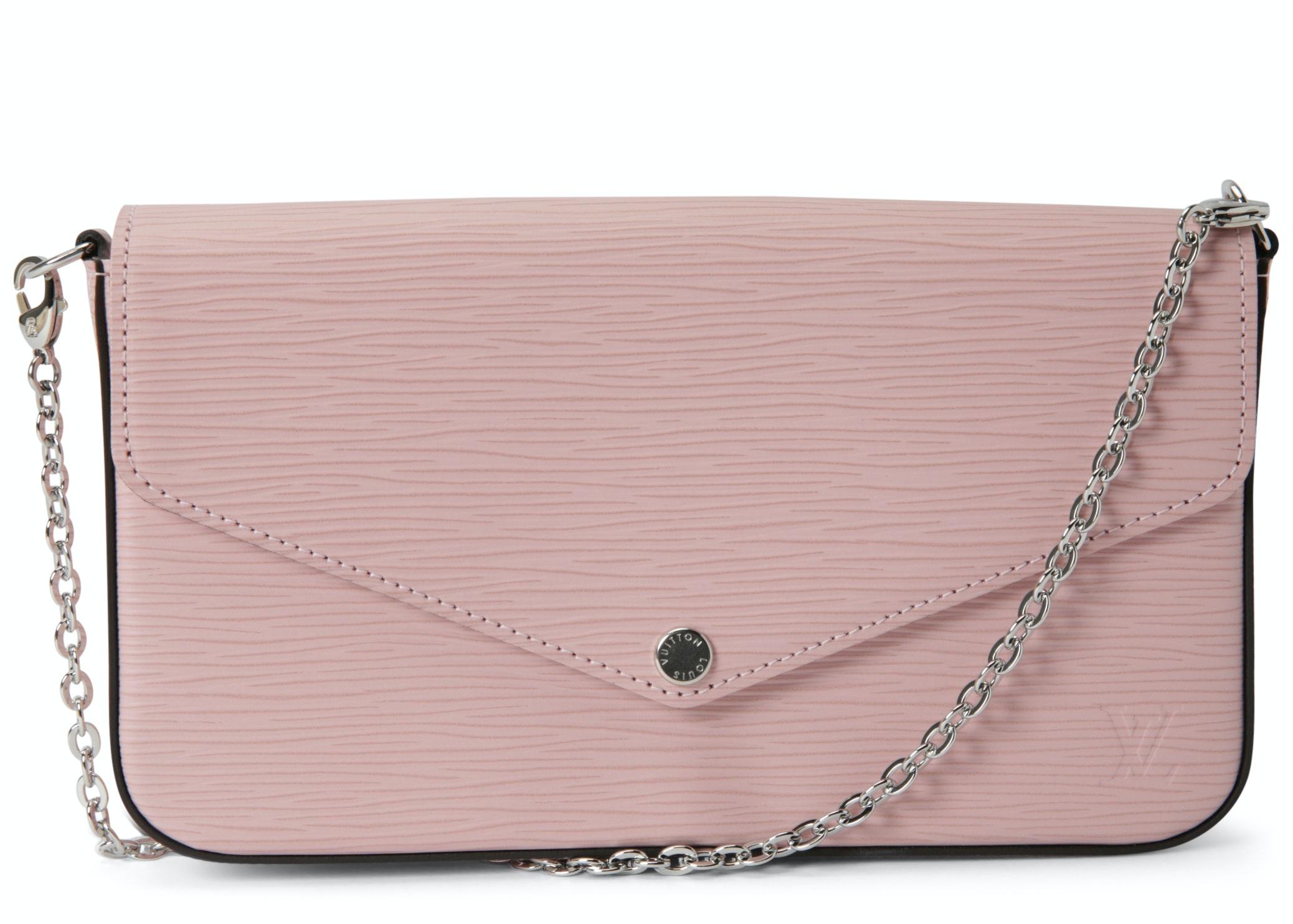 Louis Vuitton Pochette Felicie Epi Rose Ballerine