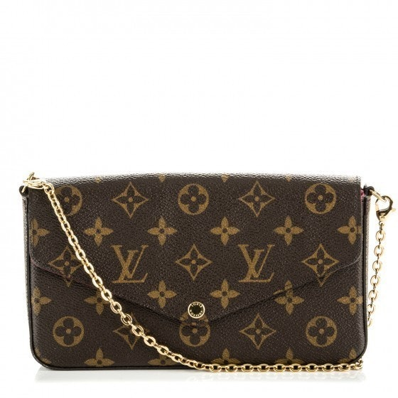 Louis Vuitton Pochette Felicie Monogram Brown