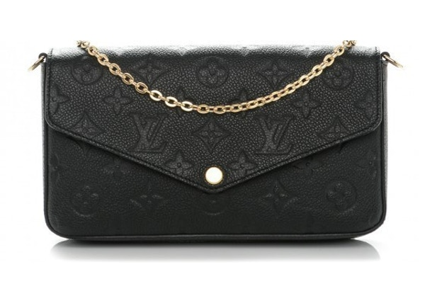 Louis Vuitton Pochette Felicie Monogram Empreinte Noir ba4644c75c4eb