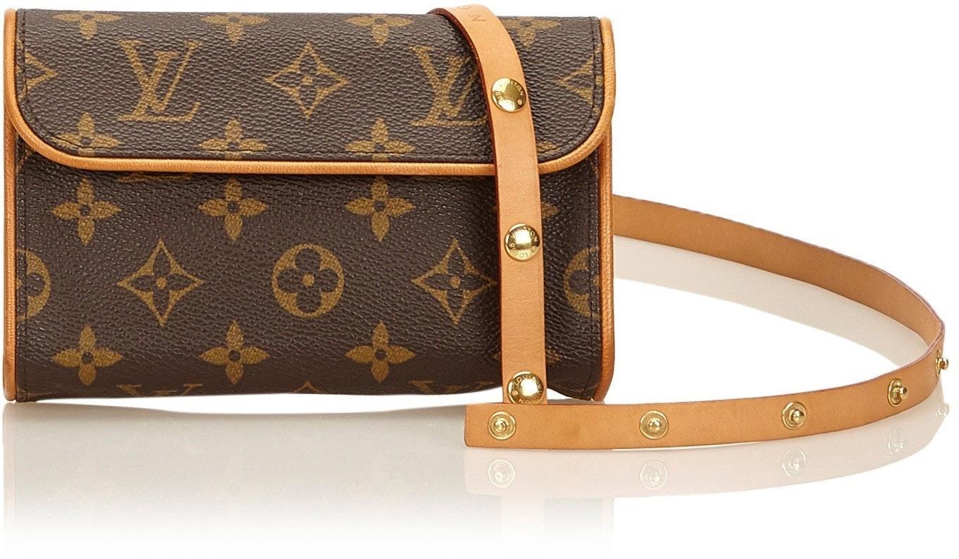 Louis Vuitton Pochette Florentine Monogram Brown