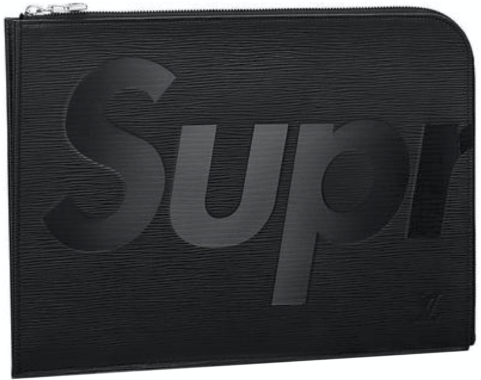 Louis Vuitton x Supreme Pochette Jour Epi GM Black