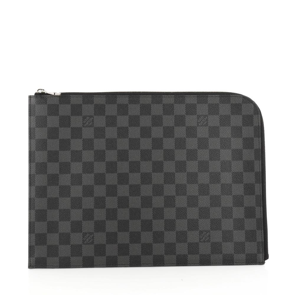 Louis Vuitton Pochette Jour Damier Graphite GM Black