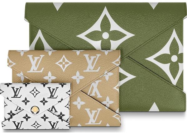 Louis Vuitton Pochette Kirigami Monogram Giant Khaki Green/Beige