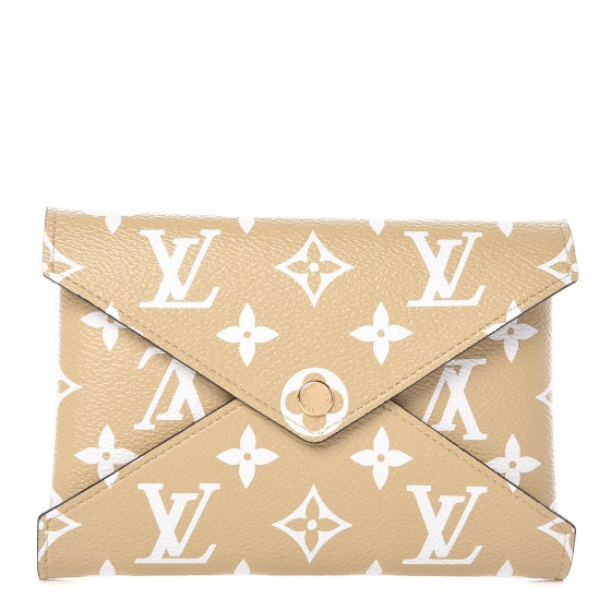 Louis Vuitton Pochette Kirigami Insert Monogram Giant Medium Beige