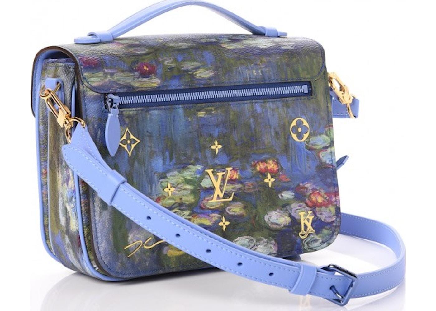 Masters Auto Sales >> Louis Vuitton Pochette Metis Monet Masters Jeff Koons Periwinkle Multicolor