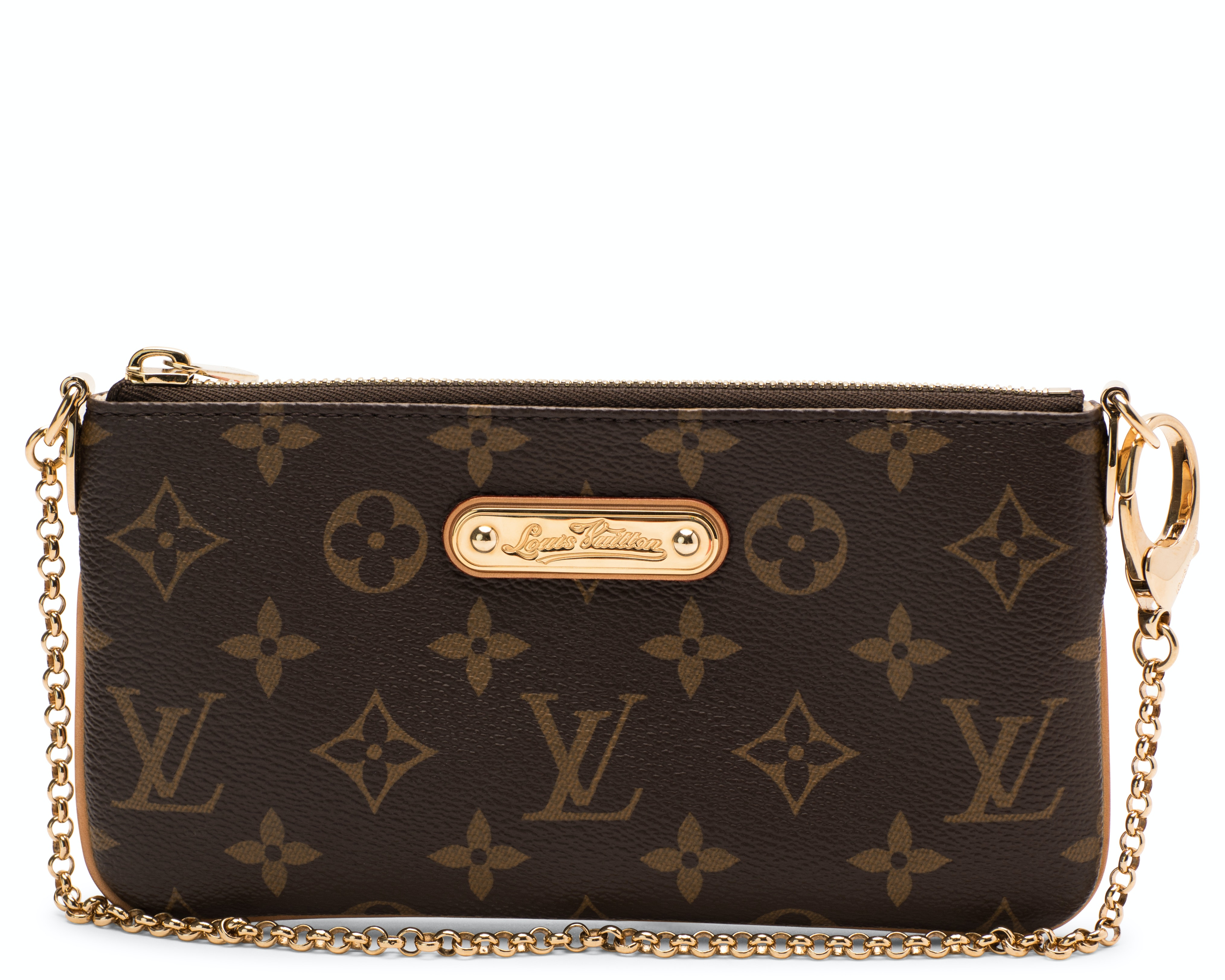 Louis Vuitton Milla Pochette Monogram Brown