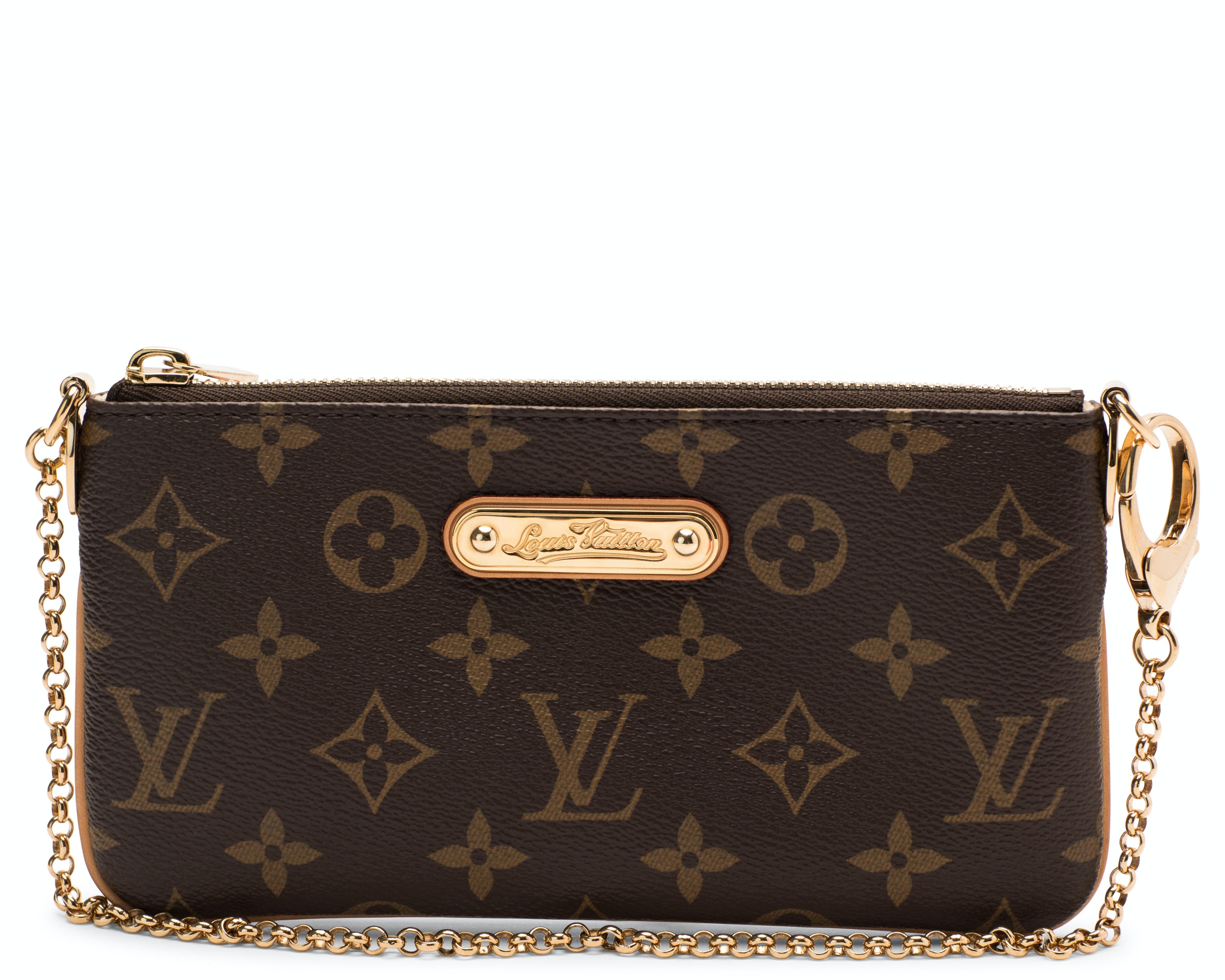 Louis Vuitton Milla Pochette Monogram Brown